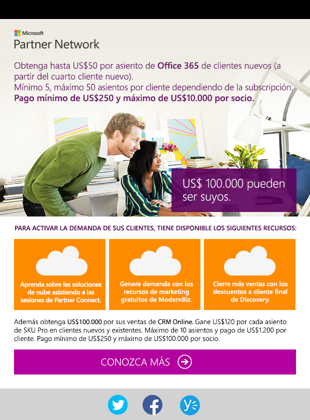 Newsletter - Partner Network Microsoft